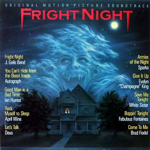 Fright Night original soundtrack