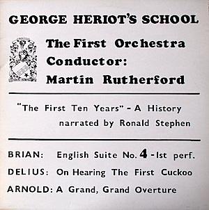 George Heriot's School: First ten Years original soundtrack