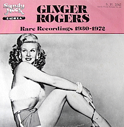 Ginger Rogers: Rare Recordings original soundtrack