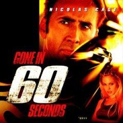 Gone in 60 Seconds original soundtrack