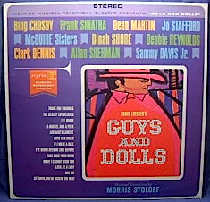 Guys and Dolls: reprise musical theatre original soundtrack