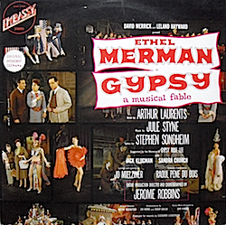 Gypsy: 1959 Broadway cast original soundtrack