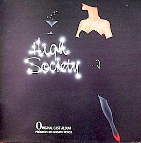 High Society: 1987 london cast recording original soundtrack