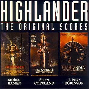Highlander: the original scores original soundtrack