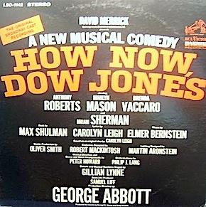 How Now Dow Jones? original soundtrack