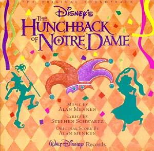 Hunchback of Notre Dame original soundtrack