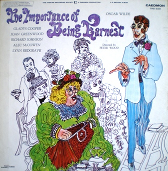 Importance of Being Earnest original soundtrack