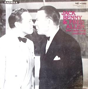 Jack Benny & Fred Allen (the radio feud continues) original soundtrack