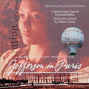 Jefferson in Paris original soundtrack