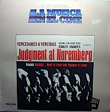Judgment at Nuremberg original soundtrack