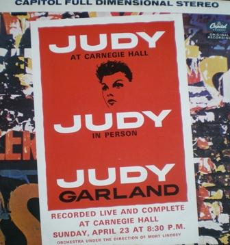 Judy at Carnegie Hall original soundtrack