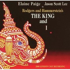 King and I: 2000 london cast recording, paige, scott lee original soundtrack