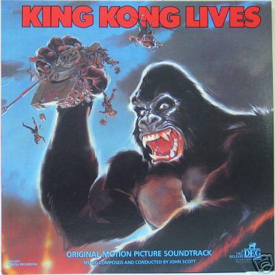 King Kong Lives original soundtrack