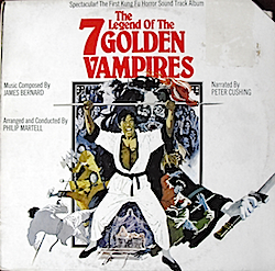 Legend of the 7 Golden Vampires original soundtrack