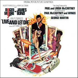 Live and Let Die original soundtrack