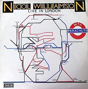 Live in London with Parachute: Nicol Williamson original soundtrack