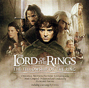 Lord of the Rings: fellowship of the ring original soundtrack