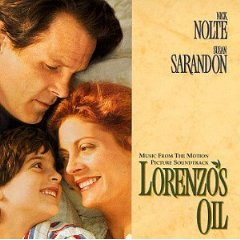 Lorenzo's Oil original soundtrack