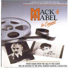 Mack & Mabel in concert original soundtrack