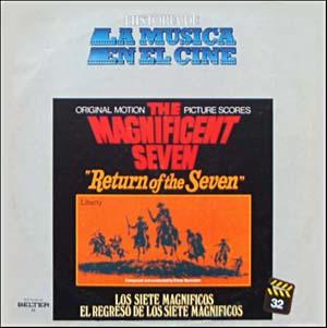 Magnificent Seven & Return of the Seven original soundtrack