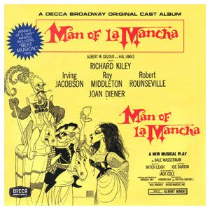 Man of La Mancha: Broadway Cast original soundtrack