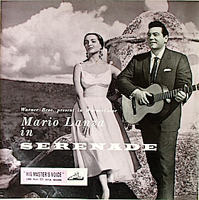 Mario Lanza in Serenade original soundtrack