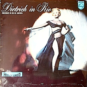 Marlene Dietrich: Dietrich in Rio original soundtrack