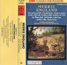 Merrie England original soundtrack