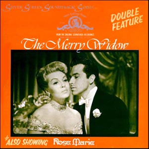 Merry Widow & Rose Marie original soundtrack