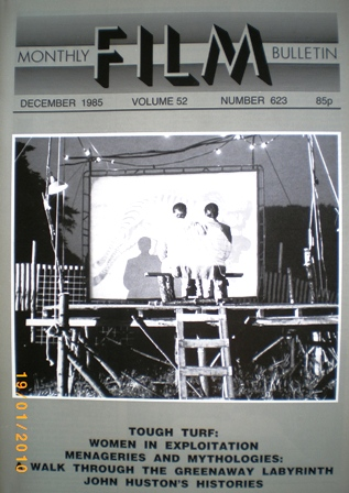 MFB December 1985 original soundtrack