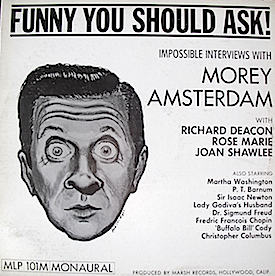 Morey Amsterdam: Funny You Should Ask original soundtrack