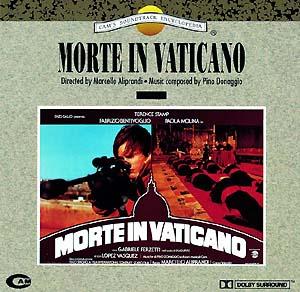 Morte in Vaticano original soundtrack