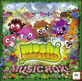Moshi Monsters: Music Rox! original soundtrack