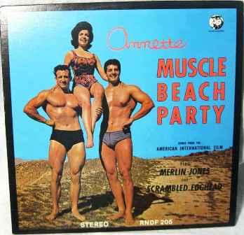 Muscle Beach Party original soundtrack