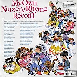 My Own Nursery Rhyme Record original soundtrack