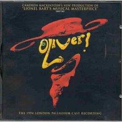Oliver: 1994 London Palladium Cast original soundtrack