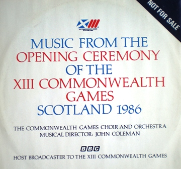 Opening Ceremony of Commonwealth Games 1986 original soundtrack
