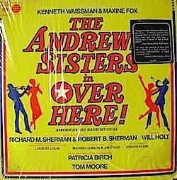 Over Here: Broadway Cast original soundtrack