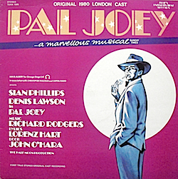 Pal Joey: 1980 London cast original soundtrack