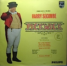 Pickwick: original London cast with Harry Secombe original soundtrack