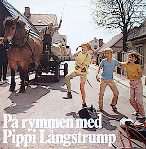 Pippi Longstocking - På Rymmen Med Pippi Långstrump original soundtrack