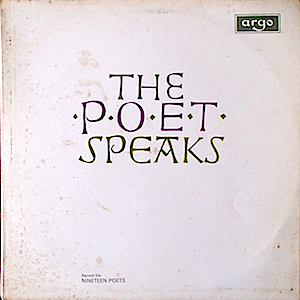 Poet Speaks - Record Six - Nineteen Poets original soundtrack