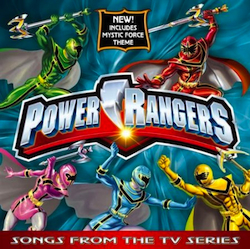 Power Rangers: Song from the TV Series original soundtrack
