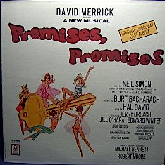 Promises Promises: 1968 broadway cast original soundtrack