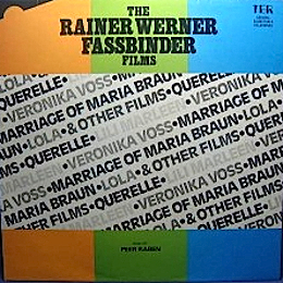 Rainer Werner Fassbinder Films original soundtrack