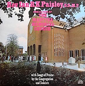 Rev Ian Paisley: Preaches at the Martyrs Memorial Church original soundtrack