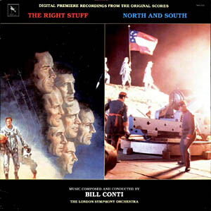 Right Stuff + North and South original soundtrack
