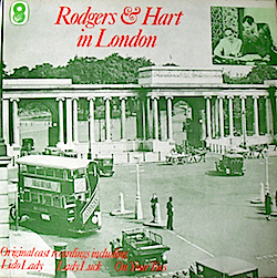 Rodgers & Hart in London original soundtrack