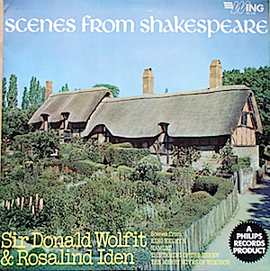Scenes From Shakespeare: Wolfit & Iden original soundtrack