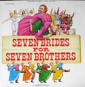 Seven Brides for Seven Brothers: 1986 London Cast original soundtrack